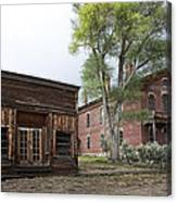 City Drug Store And Hotel Meade - Bannack Montana Ghost Town Canvas Print