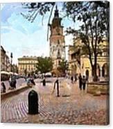 City-hall Krakow Canvas Print