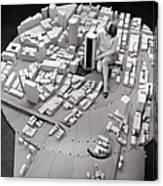 City Model Of Sydney, 1969 Canvas Print