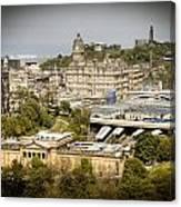 City Of Edinburgh Canvas Print