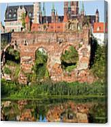 City Of Gdansk In Poland Canvas Print