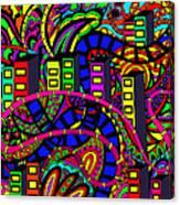City Of Life Canvas Print