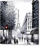 City Of Love Canvas Print