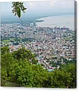City Of Port Of Spain Trinidad 3 Canvas Print