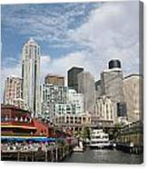 City Of Seattle Canvas Print
