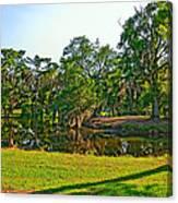 City Park Lagoon Canvas Print