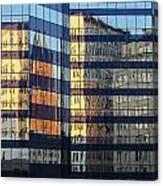 City Reflections 2 Canvas Print