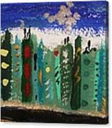 City Sidestreet Canvas Print