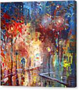 City Street Canvas Print