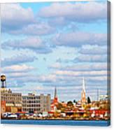 City View Four Canvas Print