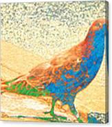 Citybird Canvas Print
