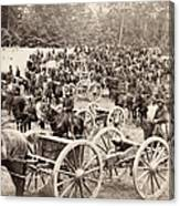 Civil War: Artillery, 1862 Canvas Print