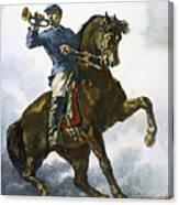 Civil War: Bugler, 1863 Canvas Print