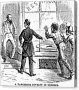 Civil War: Food Shortage Canvas Print