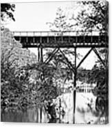 Civil War: Foot Bridge Canvas Print