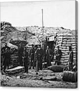 Civil War: Headquarters Canvas Print