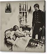 Civil War Hospital Canvas Print