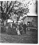 Civil War: Nurses & Officers Canvas Print