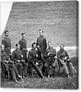 Civil War Officers Canvas Print