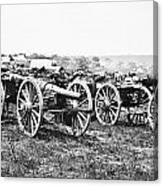 Civil War: Parrott Guns Canvas Print