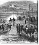 Civil War: Potomac Bridge Canvas Print