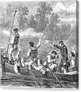 Civil War: Potomac River Canvas Print