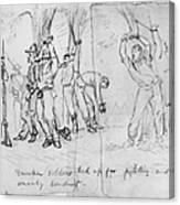 Civil War: Punishment Canvas Print