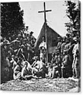 Civil War: Religion Canvas Print