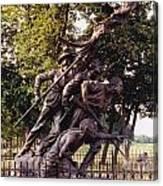 Civil War Soldiers Monument Canvas Print