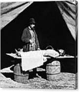 Civil War: Surgeon Canvas Print