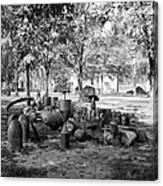 Civil War: Torpedo Shells Canvas Print
