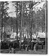 Civil War: Union Camp, 1864 Canvas Print