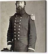 Civil War Union Commander Canvas Print