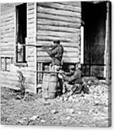 Civil War: Union Soldiers Canvas Print