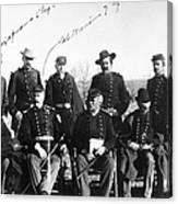 Civil War: Veterans Canvas Print