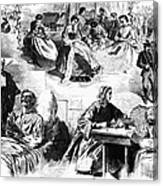 Civil War: Women, 1862 Canvas Print