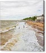 Clacton Beach Canvas Print