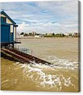 Clacton Lifeboat House Canvas Print