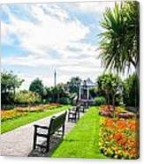 Clacton Pleasure Garden Canvas Print