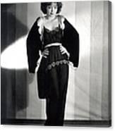 Clara Bow, Around 1929 Canvas Print