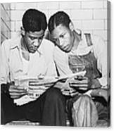 Clarence Norris And Charley Weems, Two Canvas Print