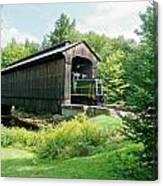 Clarks Covered Bridge Canvas Print