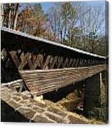 Clarkson Covered Bridge Canvas Print