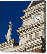 Clarksville Historic Courthouse Canvas Print