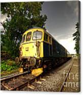 Class 33 At Bishop Auckland Canvas Print