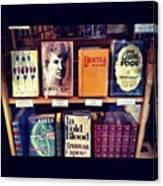 Classic Books #bookstore #dublin Canvas Print