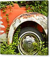 Classic Car Forgotten Canvas Print