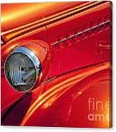 Classic Car Lines Canvas Print
