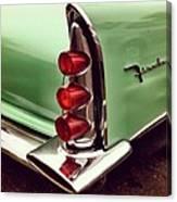 Classic car tail lamp Canvas Print