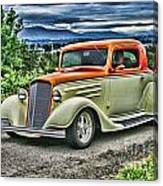 Classic Ford Hdr Canvas Print